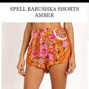 Size Swap only!! Spell Amber Babs shorts